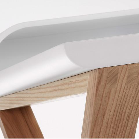 Письменный стол Success 120x79 матовый белый C285L05