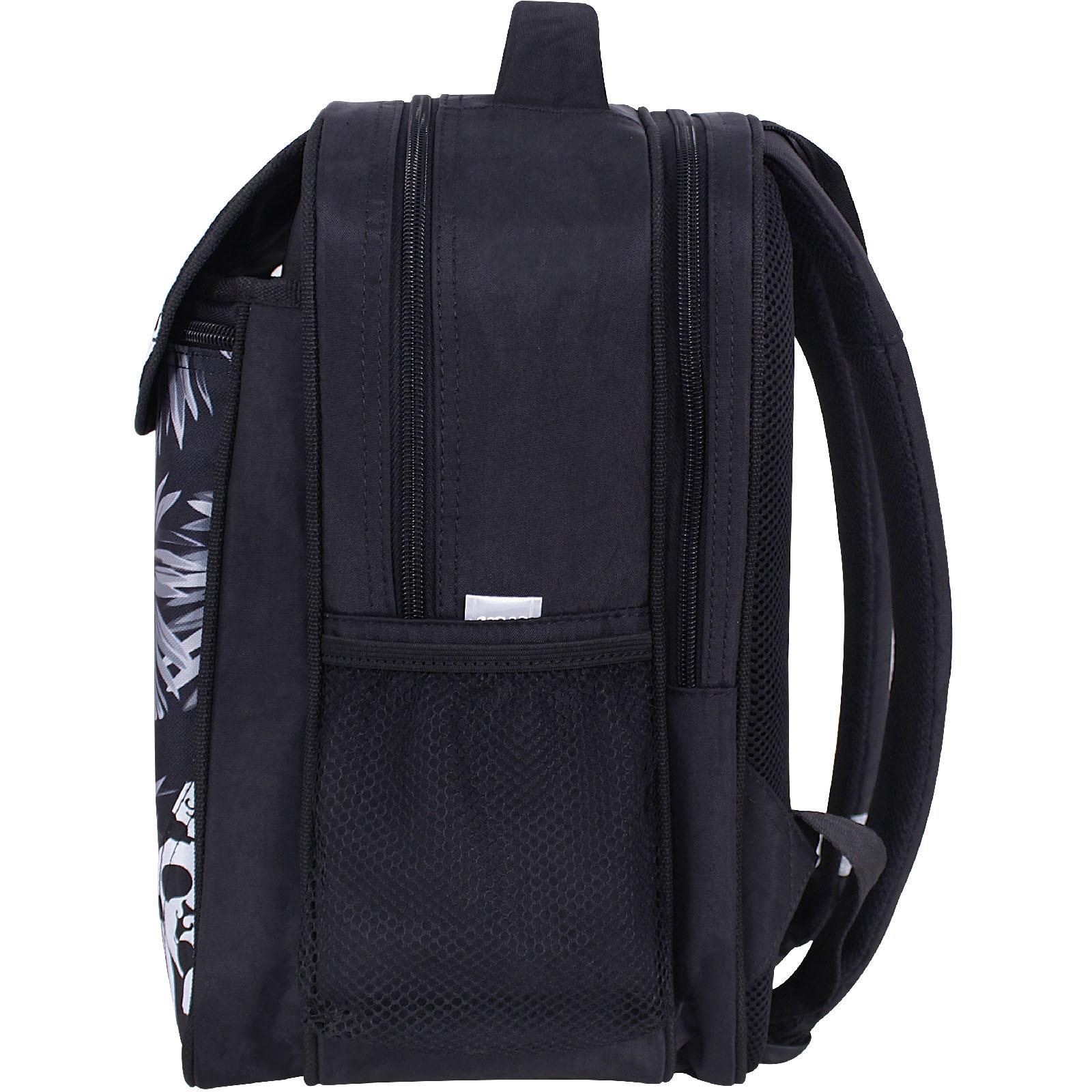 Рюкзак школьный Bagland Отличник 20 л. черный 908 (0058070)