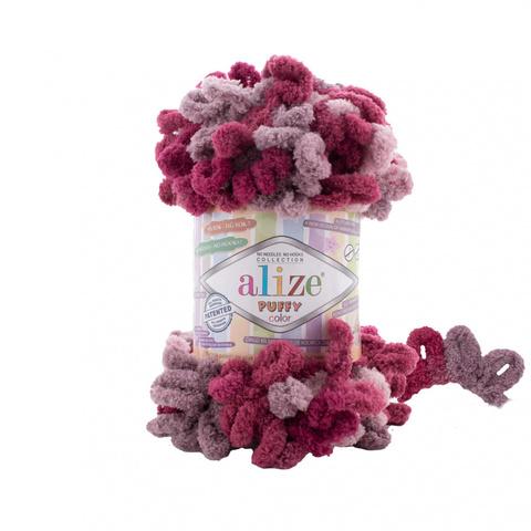 Пряжа Puffy Color Alize 6259