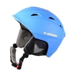 Горнолыжный шлем Blizzard Demon neon blue matt