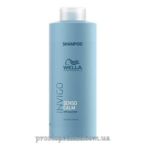 Wella Invigo Balance Senso Calm Sensitive Shampoo - Шампунь для чутливої шкіри голови 1000мл