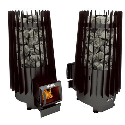 Печь банная Grill'd Cometa 180 Long black в интернет-магазине ЯрТехника