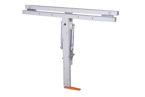 Откидной стол глубокий: 590 мм (ширина) 750 мм (глубина). Столешница ЛДСП. Т-обр механизм.