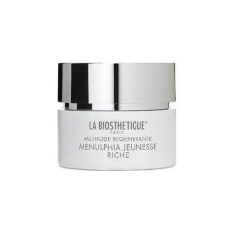 La Biosthetique Methode Regenerante: Насыщенный регенерирующий крем для лица интенсивного действия (Menulphia Jeunesse Riche), 50мл/200мл
