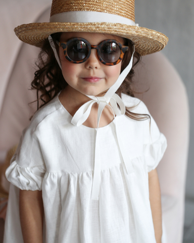 Straw boater hat ACAPULCO