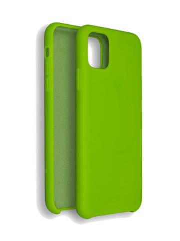 Чехол для iPhone 11 Софт Тач мягкий эффект | микрофибра фисташковый