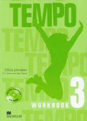 Tempo 3 рабочая тетрадь+CD-ROM