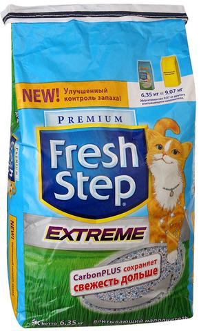 """Наполнитель """"Fresh Step"""" тройной контроль запахов 6,35 кг"""