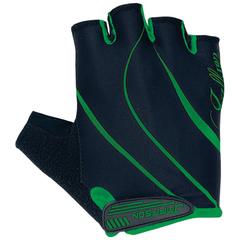 Велоперчатки JAFFSON SCG 47-0120 (чёрный/зелёный)