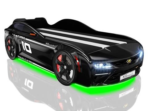 Кровать-машинка Romack Energy Черная
