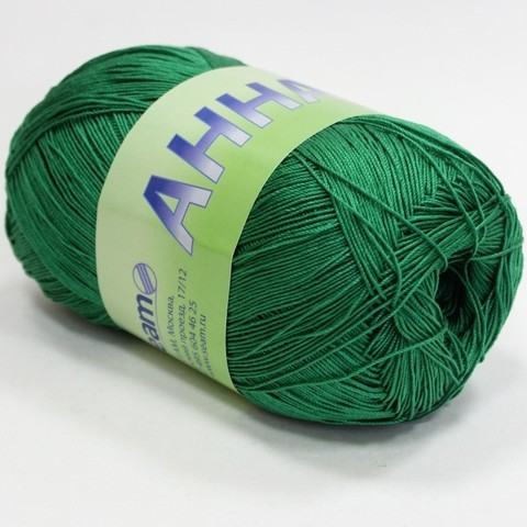 Пряжа Seam Анна 16 360 зелень