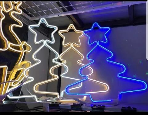 Гирлянда елка неон LED
