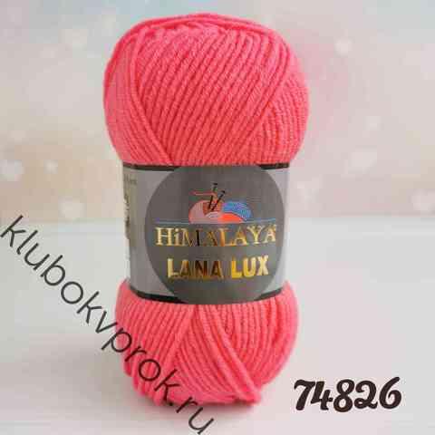 HIMALAYA LANA LUX 74826, Розовый коралл