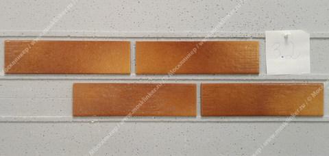 Paradyz - Aquarius Brown, 245x65.8x7.4 - Клинкерная плитка для фасада и внутренней отделки