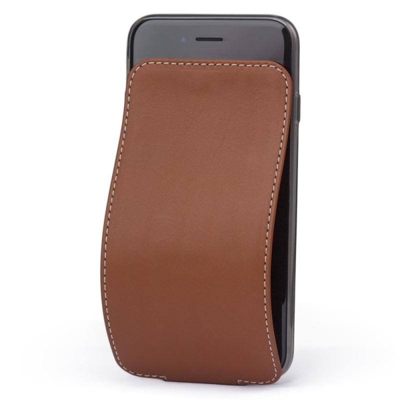 Чехол для iPhone 6/6S из натуральной кожи теленка, цвета голд