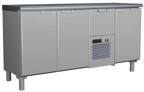 фото 1 Холодильный стол Rosso T57 M3-1 9006-1 корпус серый без борта (BAR-360) на profcook.ru