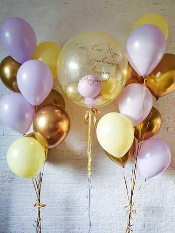 Воздушные шарики девушке