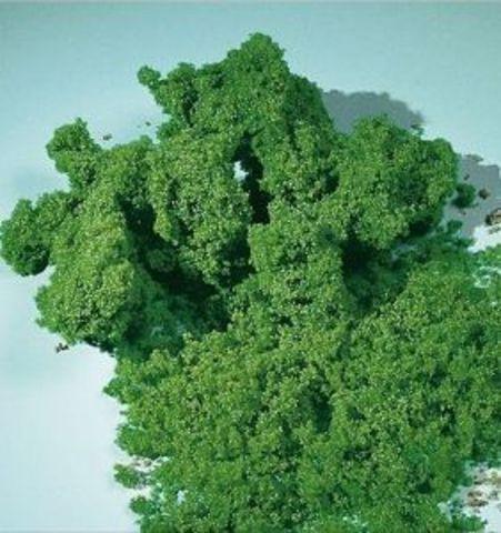 Искусственный мох - светло-зелёный (мелкий)