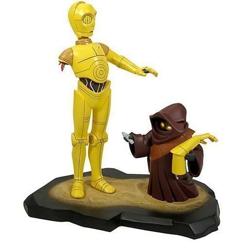 Star Wars Animated Series C3PO & Java