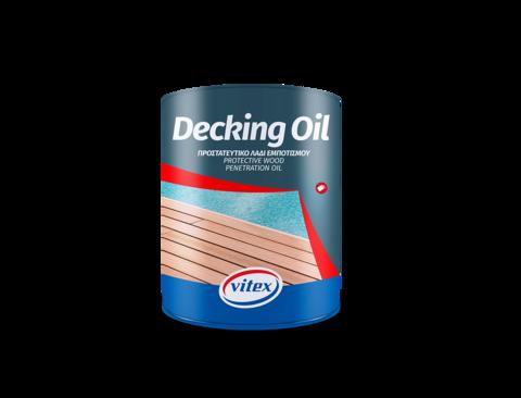 Масло-пропитка  для защиты деревянных палуб - Decking Oil