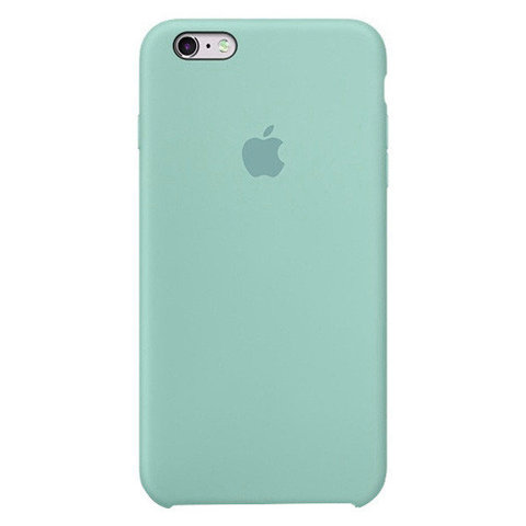 Чехол IP6/6S Silicone Case Cornflower