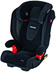 Детское кресло RECARO Monza Seatfix (материал верха Topline Microfibre Black/Aquavit)