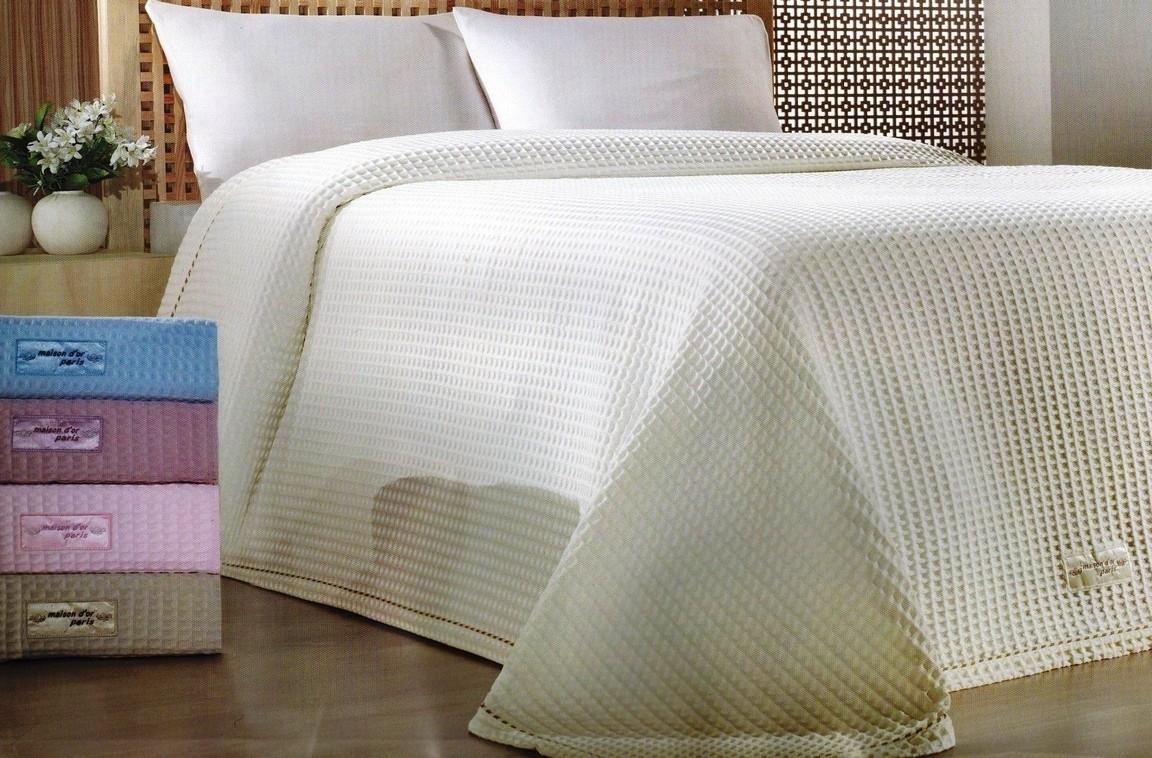 Легкие  покрывала-пледы Покрывало легкое вафельное STAR - СТАР  / Maison Dor(Турция) STAR_-_СТАР_ваф.покр.jpg