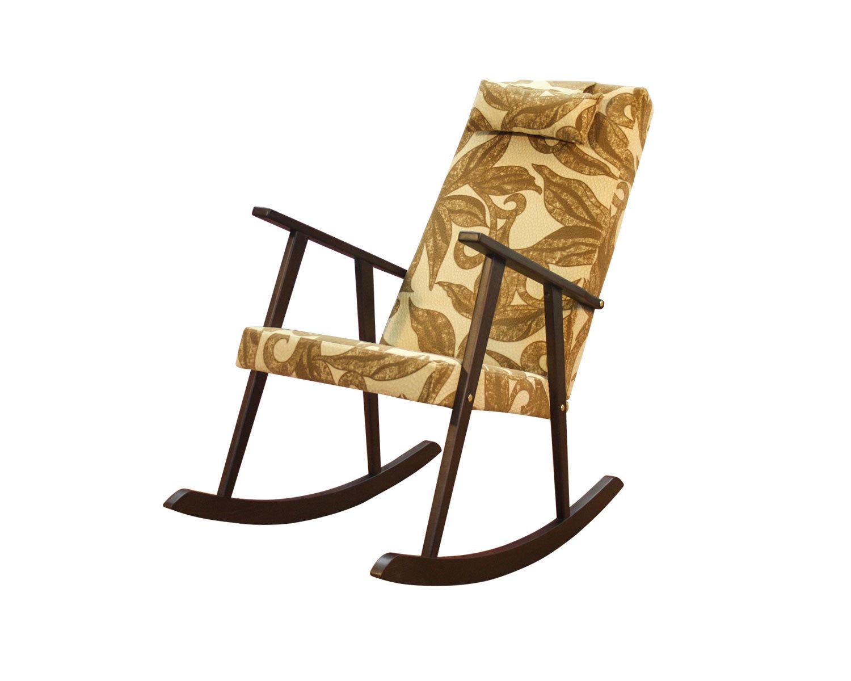 Кресло-качалка Стелси-К, съемный подголовник