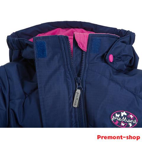 Горловина пальто Premont Сердце океана S18164 для девочек