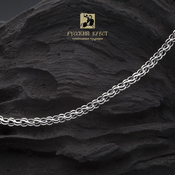 серебряные цепи для мужчин плетение Ручей.