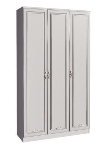 Шкаф трехстворчатый Melania 01 Арника рамух белый