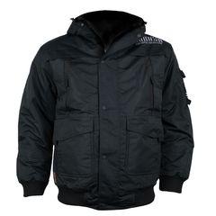 Зимняя куртка черная Yakuza Premium 2360