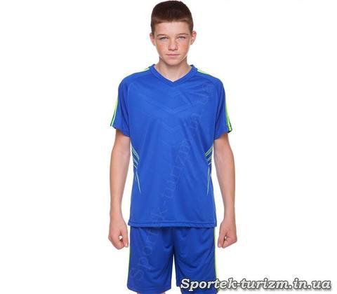Подростковая футбольная форма SP-Sport Glow CO-703B_BL