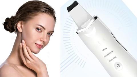 Аппарат для ультразвуковой чистки лица