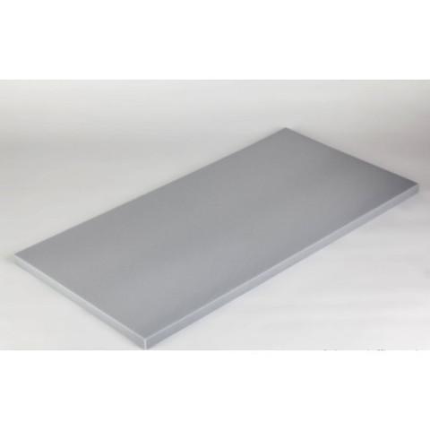 негорючая  акустическая панель ECHOTON FIREPROOF 100x50x3cm  из материала  меламин серый