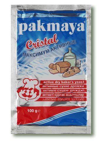Спиртовые дрожжи Pakmaya Cristal, 100 гр.