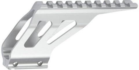 Планка для крепления аксессуаров для пистолета CZ SP-01 SHADOW серебристая (артикул 17297)
