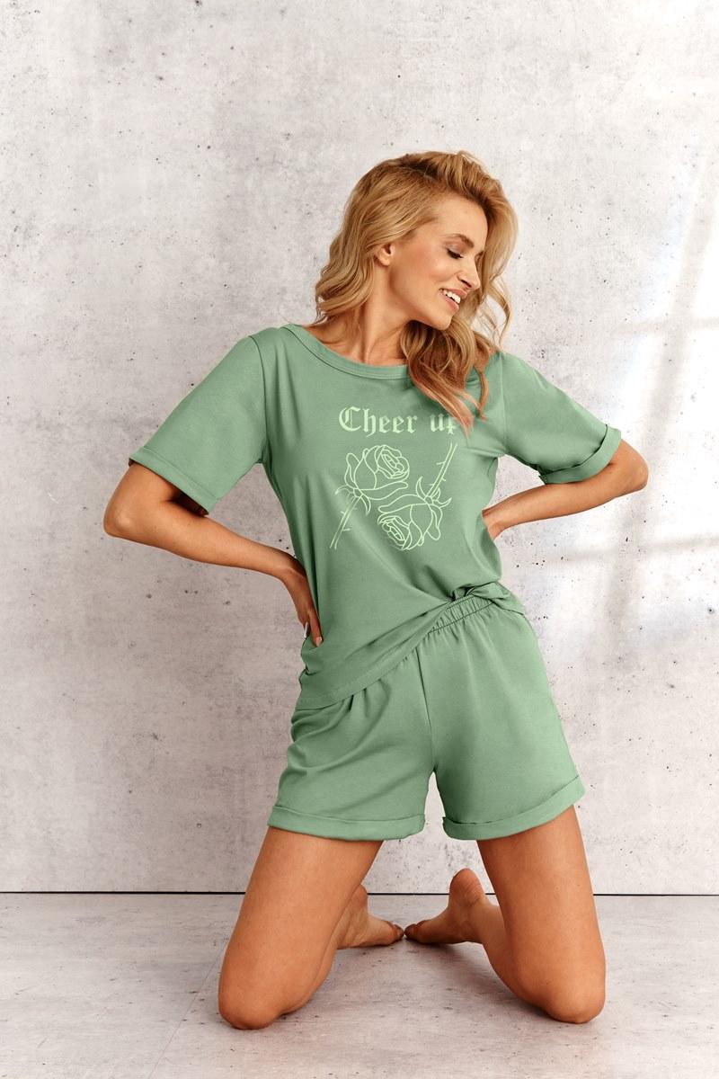 Пижама женская с шортами TARO 2500 SS21 KORA