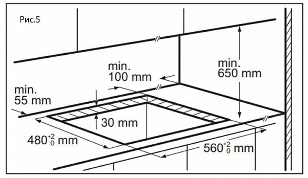 Газовая варочная панель Maunfeld EGHG.64.6CB/G