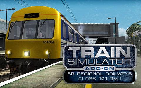 Train Simulator: BR Regional Railways Class 101 DMU Add-On (для ПК, цифровой ключ)