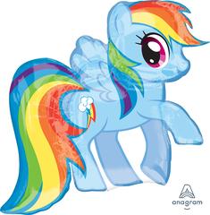 А Фигура, Лошадка Радуга, My Little Pony, 25''/64 см, 1 шт. (В упаковке)