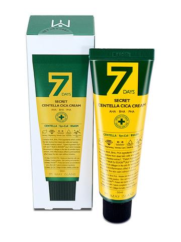 MAY ISLAND 7 Days Secret Centella Cica Cream Крем для проблемной кожи 50 мл.