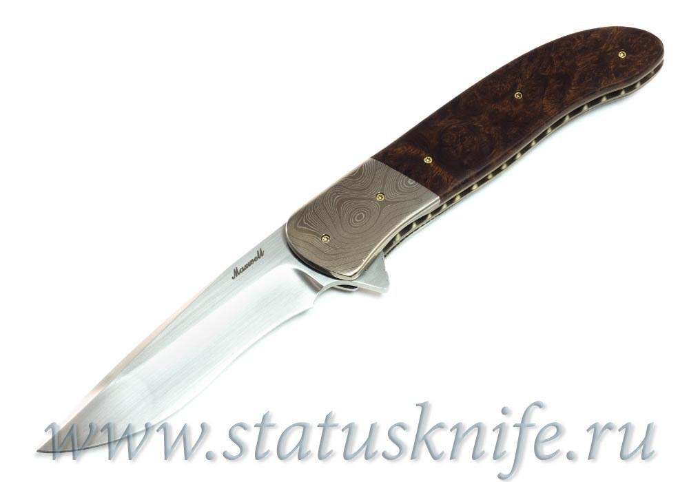 Нож Don Maxwell Orca Flipper