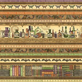 Бумага для скрапбукинга Brews and Potions Graphic45