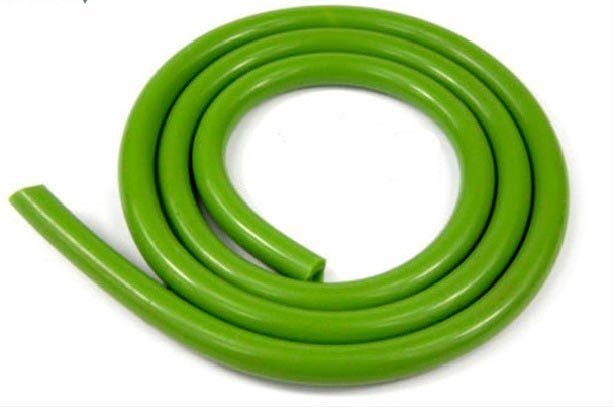 Шланг для кальяна силикон зеленый