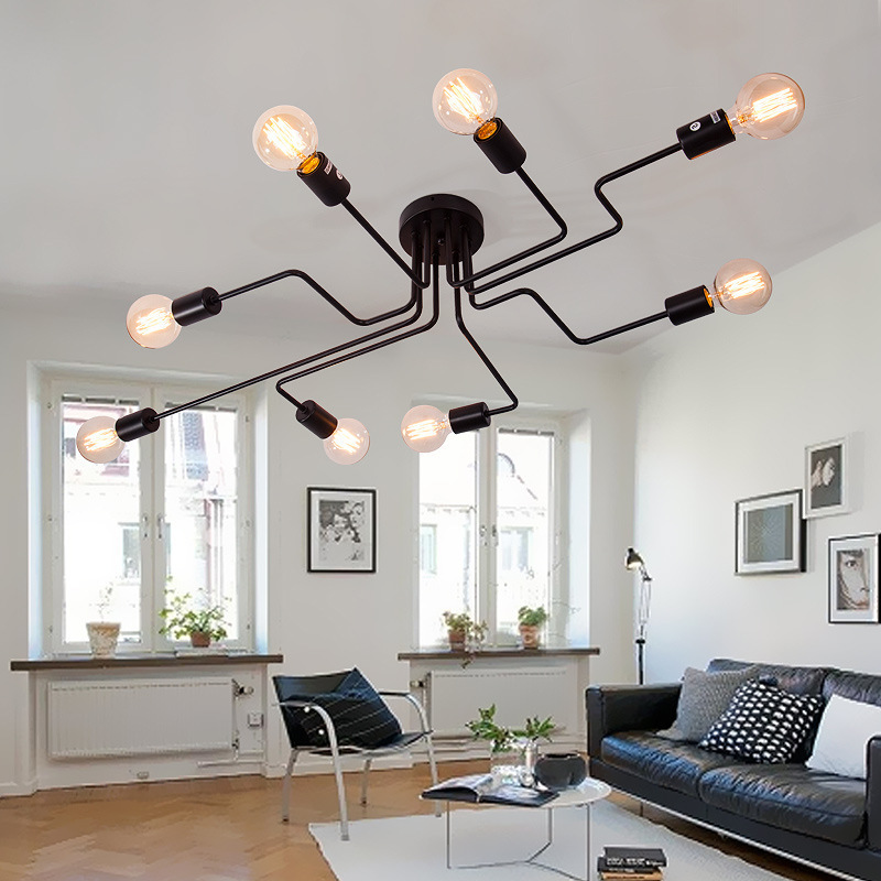 Потолочный светильник Spider by Light Room (6 плафонов)