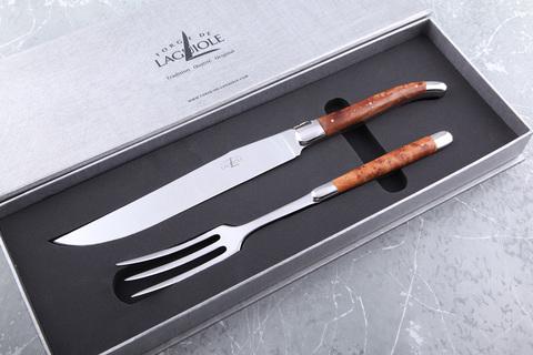 Набор разделочный (нож+вилка), Forge de Laguiole SD 2M IN TH BRI