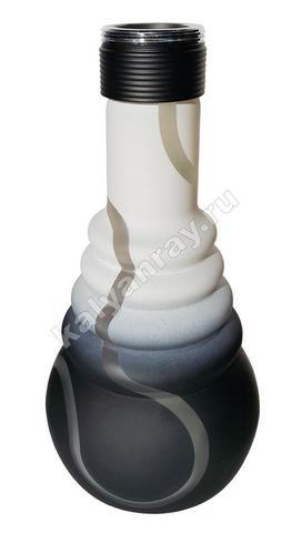 Колба Amy 4 Star 650 Чёрный матовый (PSMBK) / Белый (WT)