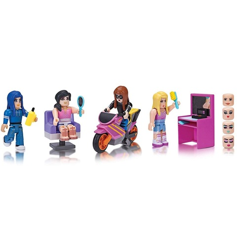 Роблокс Стильный Салон и Спа набор из 4 фигурок