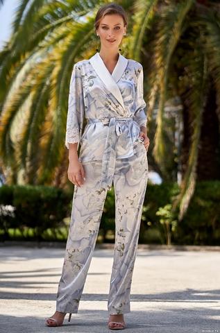 Шелковый комплект-пижама Mia Amore Novella 3606 (70% шелк)